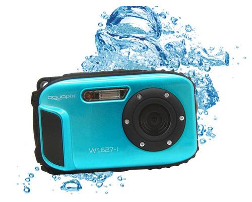 Easypix W1627 Ocean Unterwasserkamera (Blau/Blue)